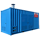 1500 kW Caldaia in Container