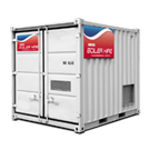 500 kW Caldaia in Container