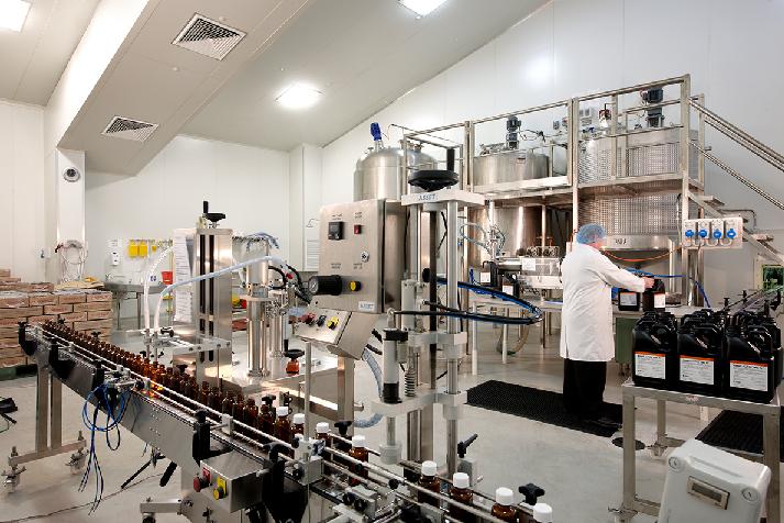 Chiller temporaneo mantiene inalterata la produttività di un'azienda farmaceutica
