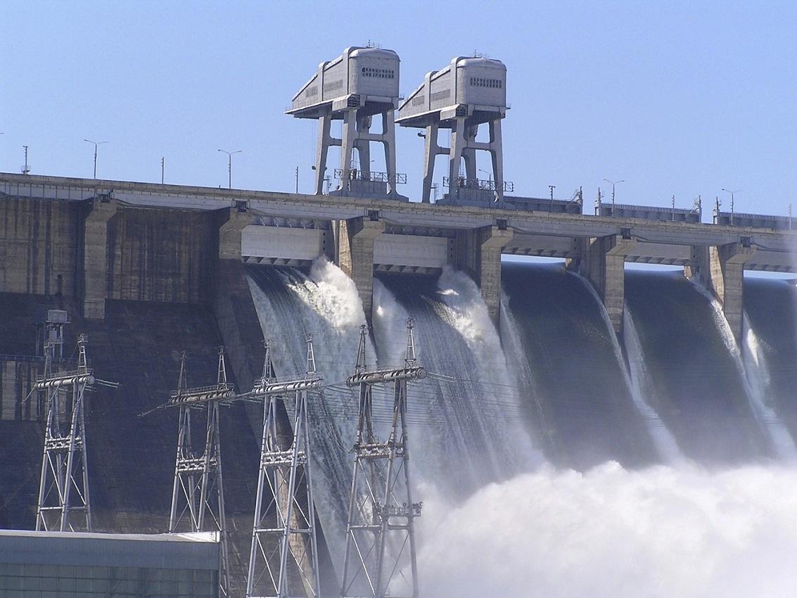 Sistema di ventilazione a noleggio per una centrale idroelettrica
