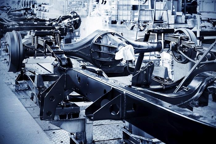 Sistema di ventilazione a noleggio per una linea di produzione