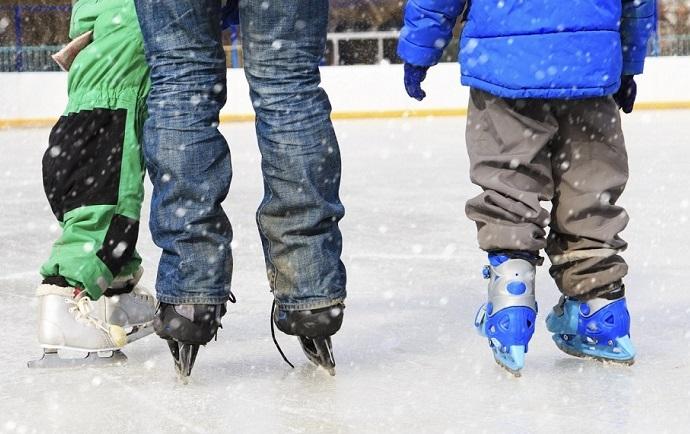 Noleggio chiller per una pista di ghiaccio