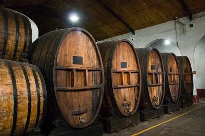 Chiller temporaneo per una cantina vinicola