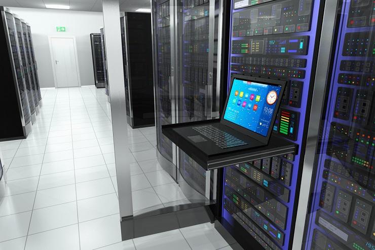 Noleggio riscaldatori per le prove di carico termico di una sala server