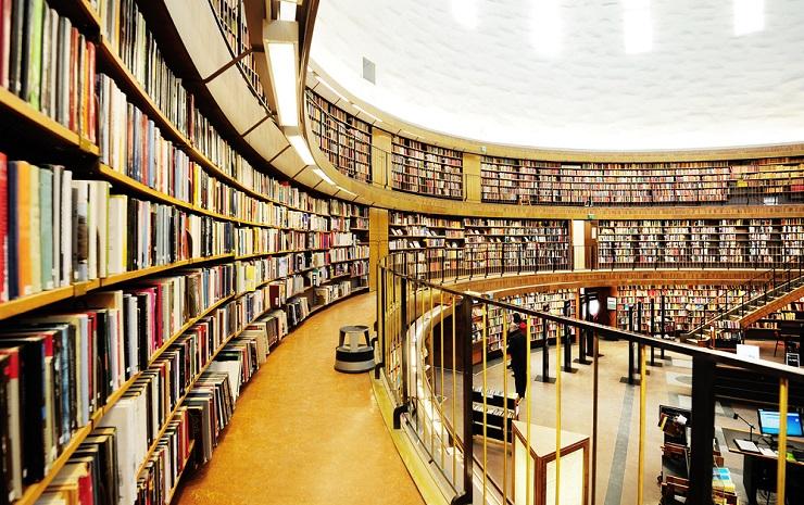 Noleggio estrattori d'aria per la costruzione di una biblioteca