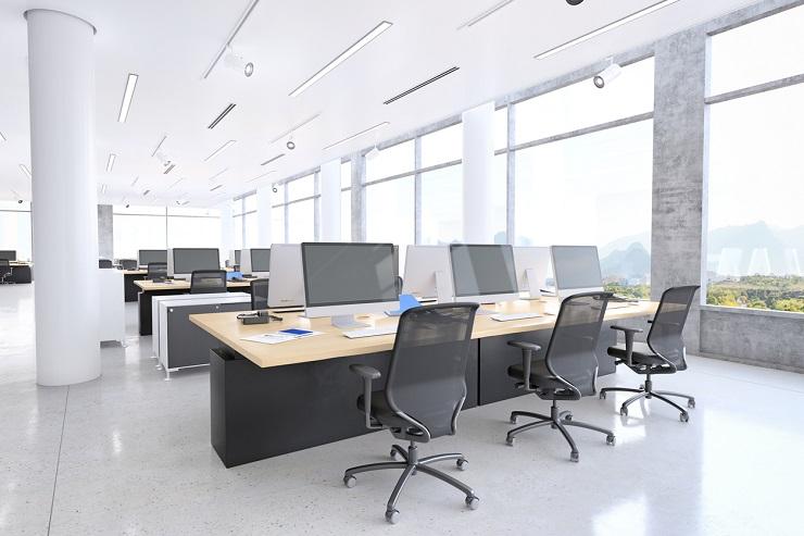 Noleggio chiller per la climatizzazione di uffici e sale riunioni