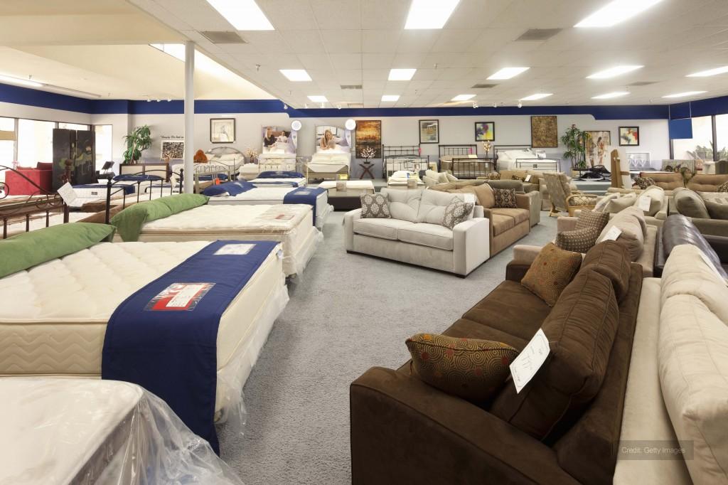 Riscaldamento temporaneo per un negozio di mobili