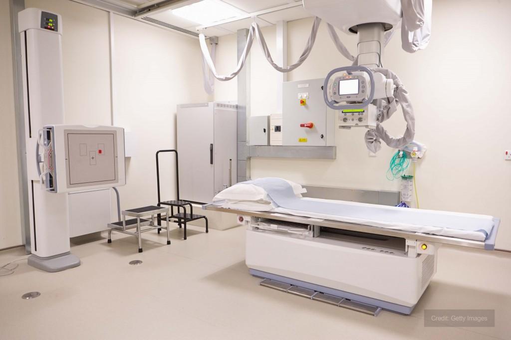 Riscaldatori temporanei per il reparto di radiologia