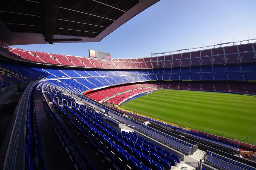 Caldaia temporanea per uno stadio