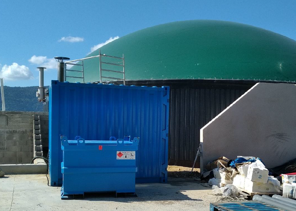 Impianto a biogas richiede il noleggio di una caldaia