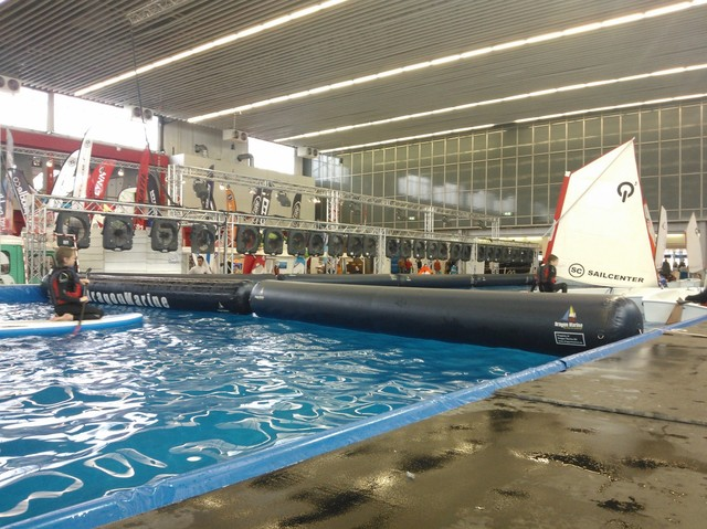 Salone nautico noleggia dei ventilatori per alcuni eventi