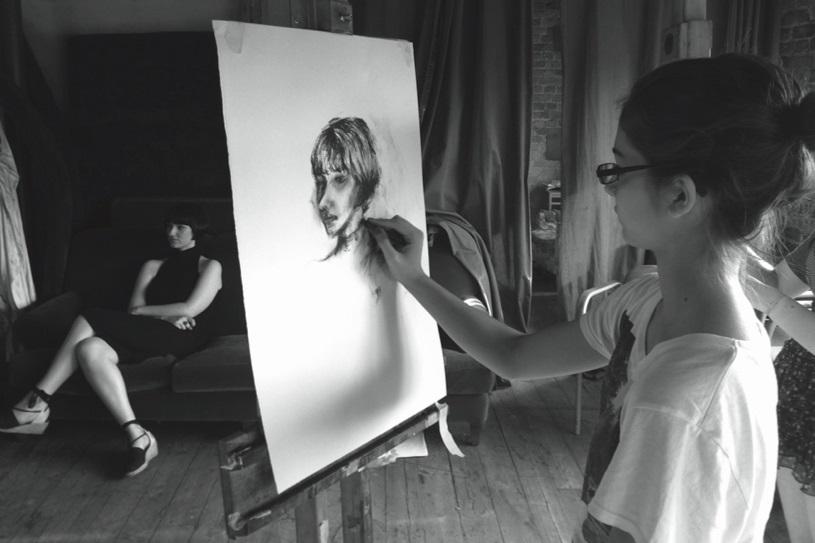 Umidificazione temporanea di una scuola d'arte