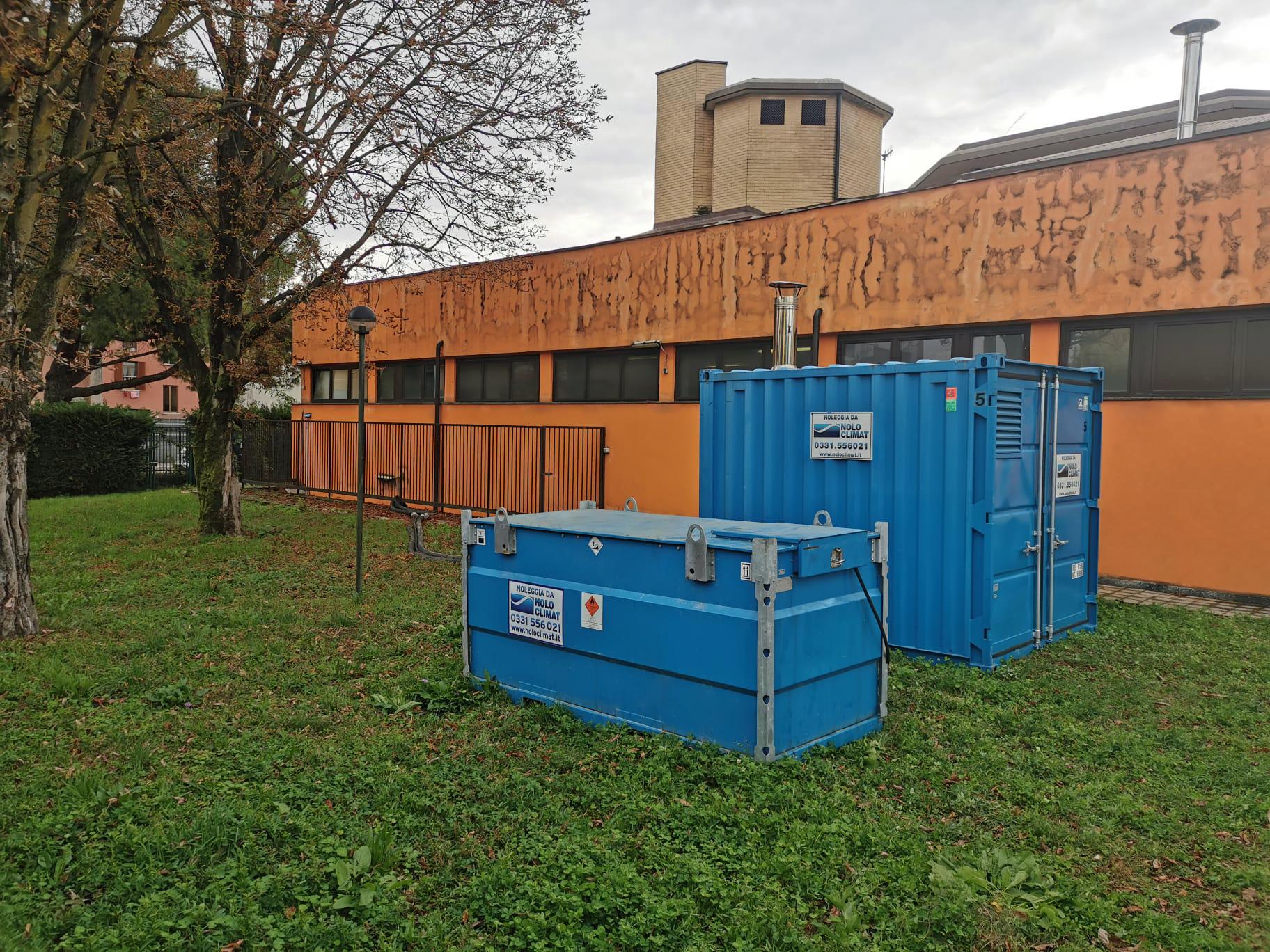 Centrale termica Nolo Climat scalda una scuola milanese