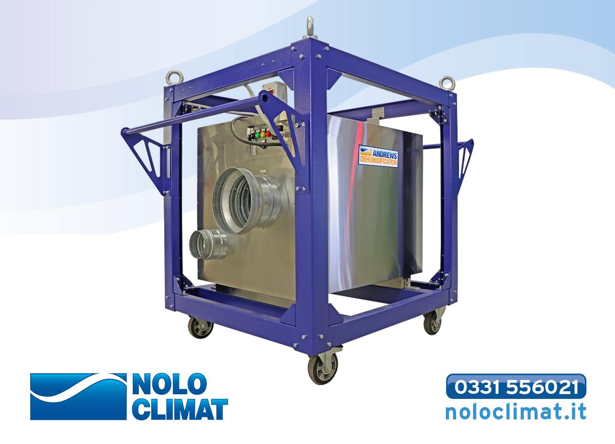 Nolo Climat amplia la sua gamma di deumidificatori essiccanti con il KT2200