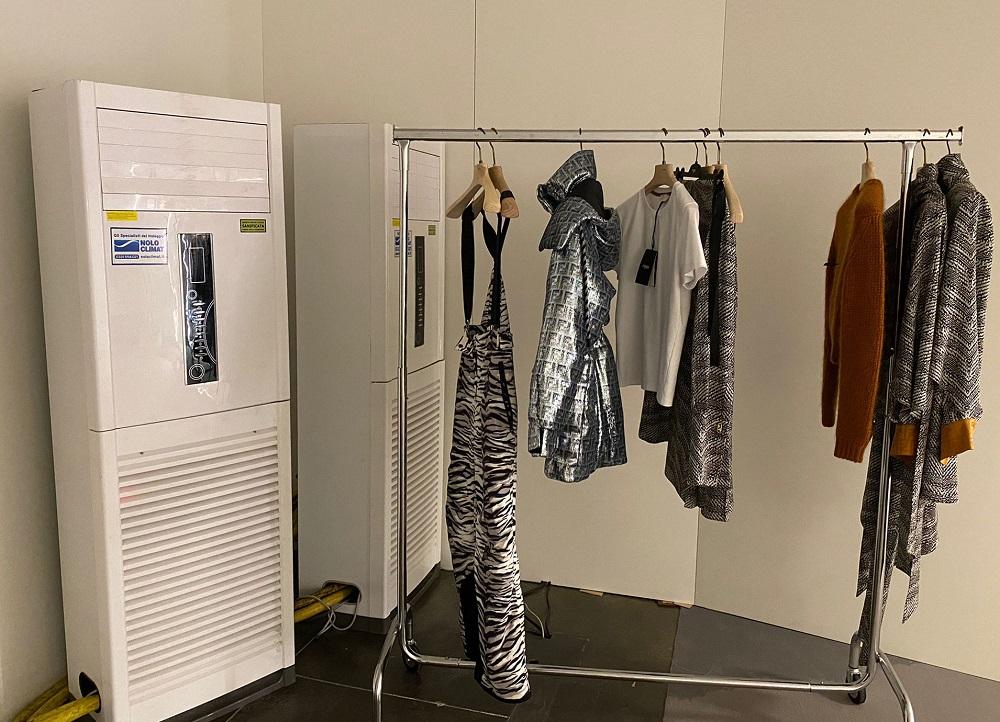 """Climatizzazione """"su misura"""" per una celebre casa di moda"""